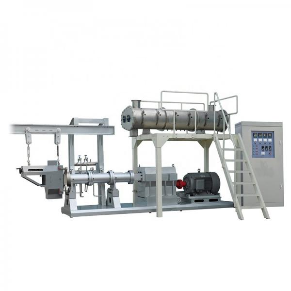 Multi function high efficiency pet cat dog food processing machines
