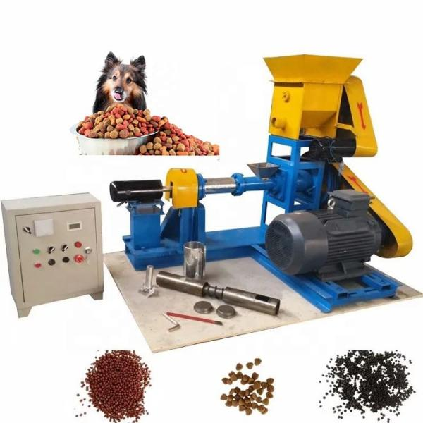 1 Year Warranty Floating and Sinking Fish Feed Processing Machines Feed Making Line
